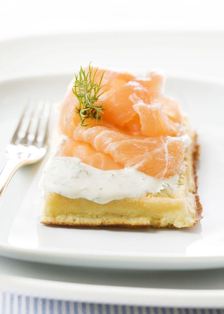 Découvrez la recette des gaufres norvégiennes
