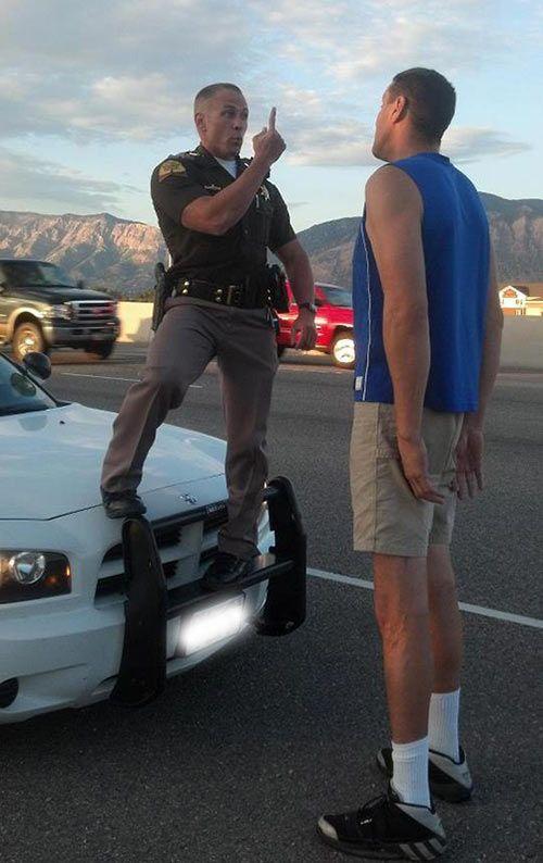 Could I still be a cop?