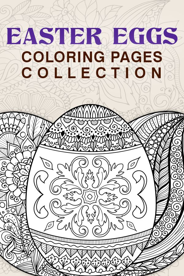 Easter Eggs Coloring Book 6 Pdf Detailed Coloring Pages Etsy In 2021 Detailed Coloring Pages Coloring Easter Eggs Coloring Pages