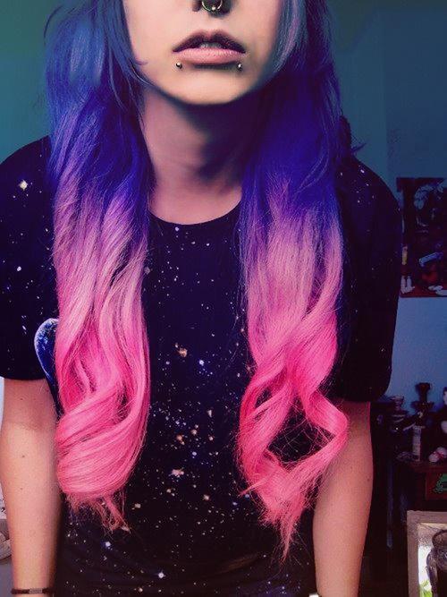Me gusta tu pelo de color, ya que son una nueva moda!