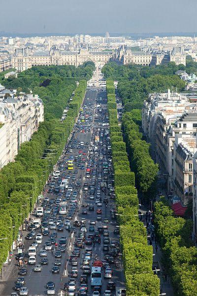 Avenue des Champs-Elysees - Paris