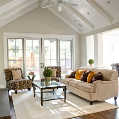 Menlo Park New Home with Basement - traditional - family room - san francisco - Allwood Construction Inc