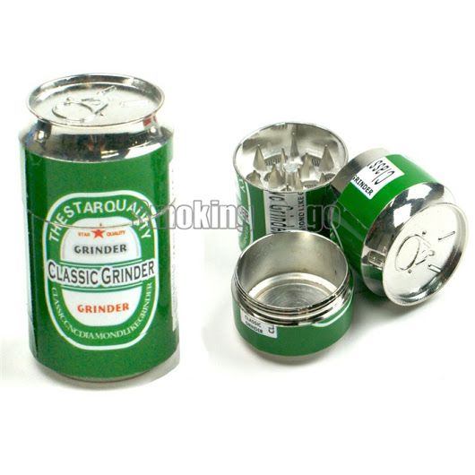 Smoking Dogo New Arrival Magnetic 4 Layers Pop Can Metal Herb Grinder Height 6.7cm Diameter 4.2cm - Urban Vape Store