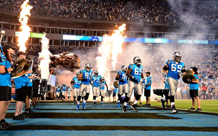 The Carolina Panthers take the field Thursday night at Bank of America Stadium