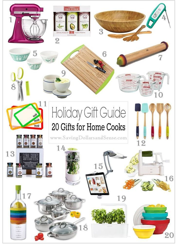 These are The Best Foodie Gift Ideas for anyone who likes to cook!