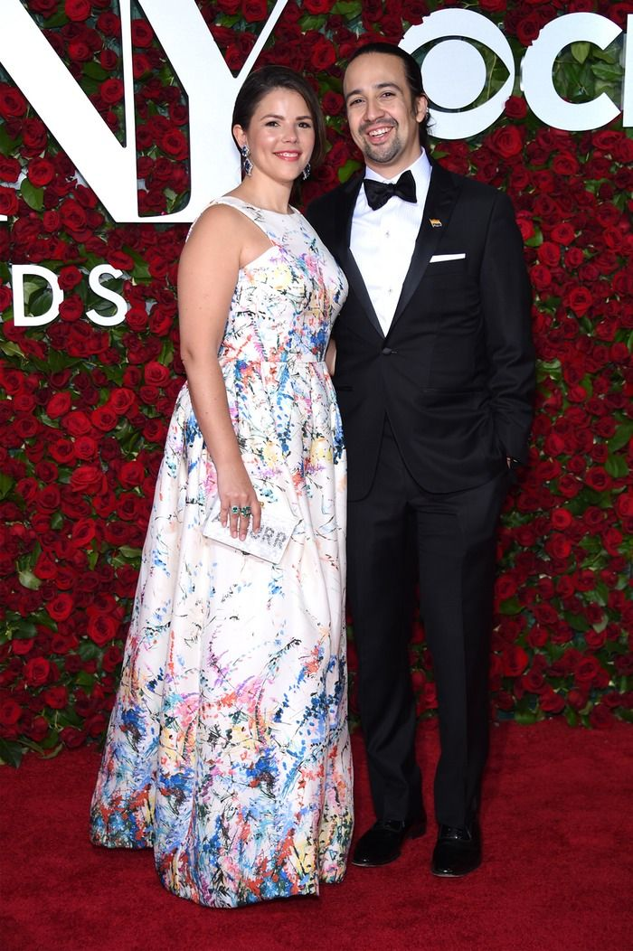 Hamilton lead Lin-Manuel Miranda is one of the hottest stars on Broadway. But what about his wife, Vanessa Nadal? Well, she is as smart as she is stunning, since she is both a scientist and an attorney. And on Sunday night, Vanessa Nadal's 2016 Tony Awards dress was an exclusive design by Cenia New