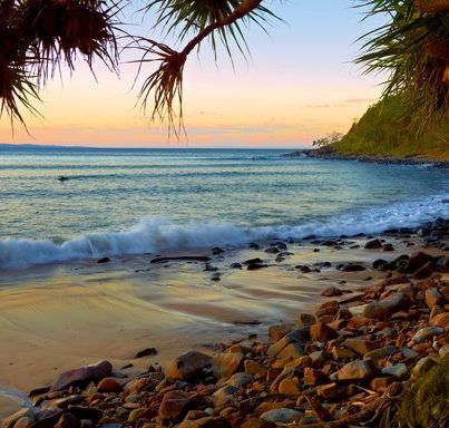 Beach I went to over from Brisbane, Qeensland north of Sydney!   Noosa Beach.  And Alexander Bay (nude beach).  You walk through a jungle to get to it!  Great!