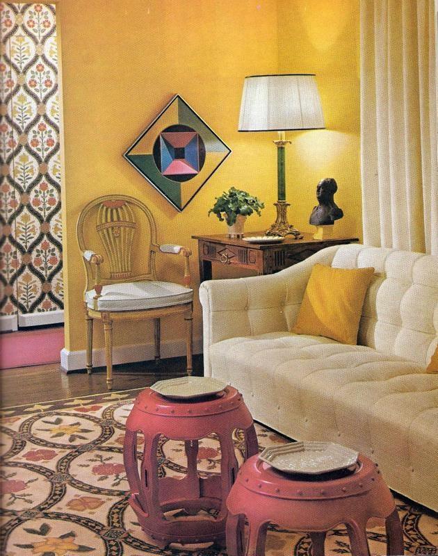 Creative Decorating On A Budget 1970 Vintage Decor