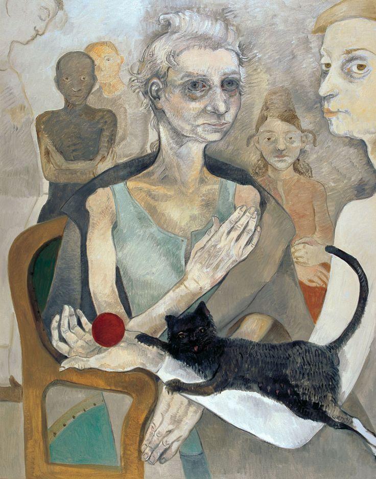 Neş'e Erdok, Anne, 146x114 cm, 2008 , Tuval üzerine yağlıboya