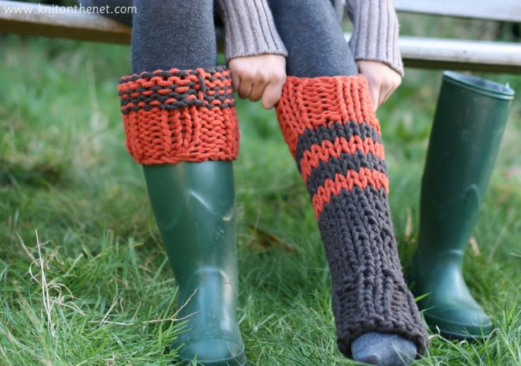 Free Knitting Pattern For Welly Socks : 1000+ images about Crocheted & Knitted (Leggings, Booties ...