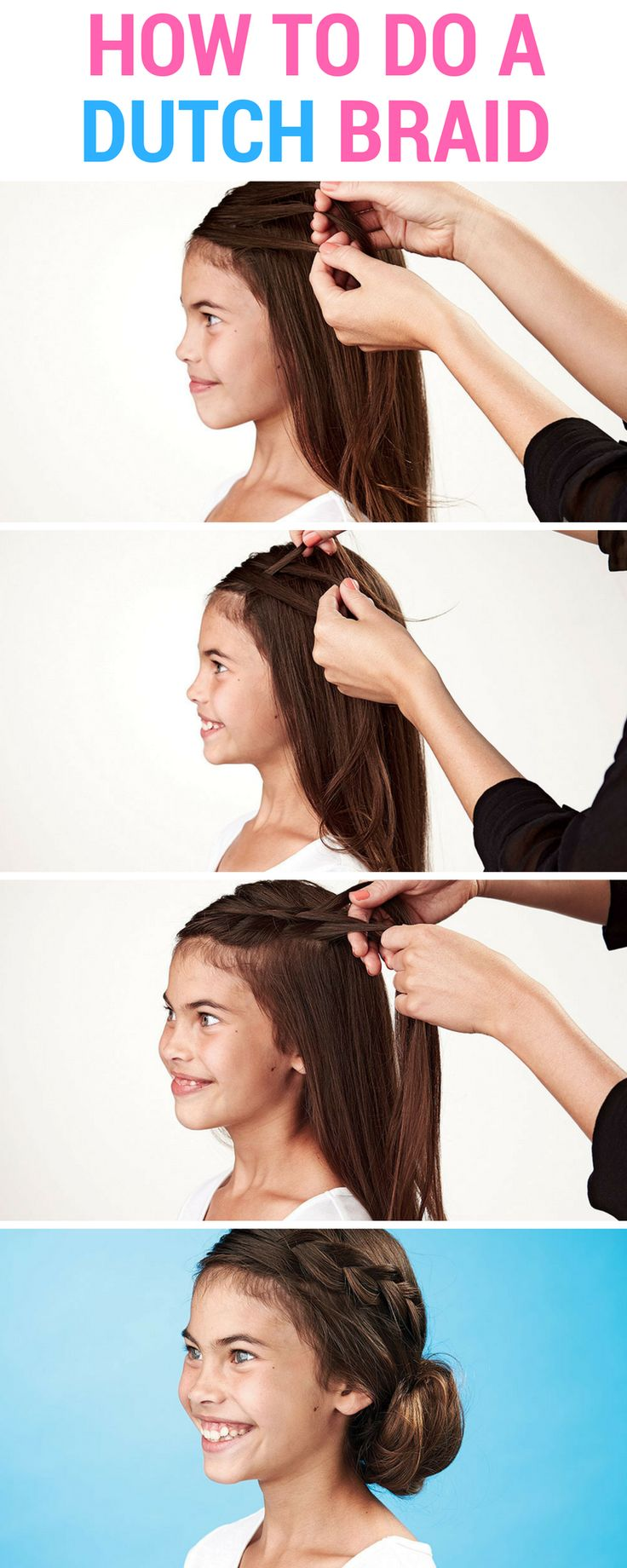 Youngsters' hair: Find out how to do a Dutch braid