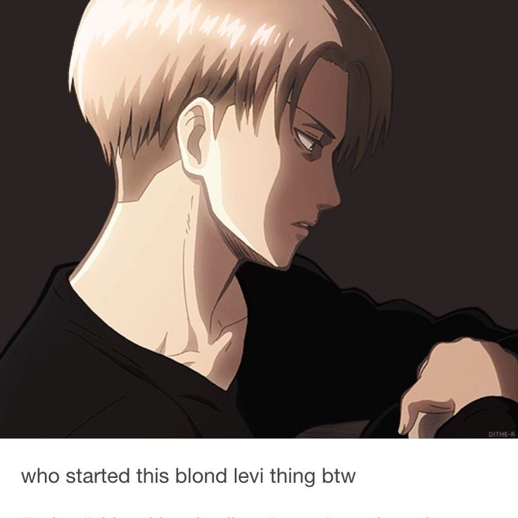 This is the 4 picture of Blond Levi I've seen. And he's hot in all of them!!