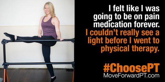 Physical Therapy Helps College Student Control Pain, and Avoid Opioids. #ChoosePT