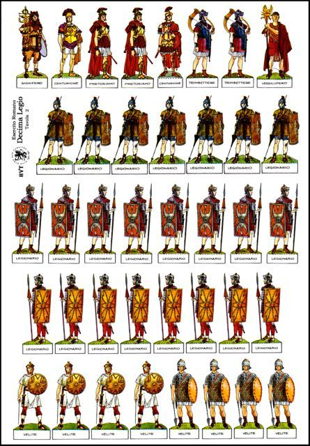 Soldados romanos                                                                                                                                                                                 Mais