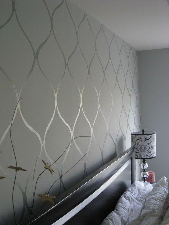 Paint That Looks Like Wallpaper 11 best bedroom wall paint/wallpaper images on pinterest | bedroom