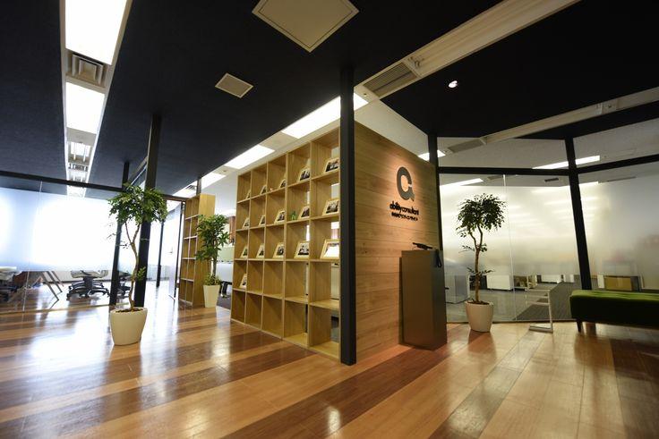 風通しの良いコミュニケーションオフィス|オフィスデザイン事例|デザイナーズオフィスのヴィス