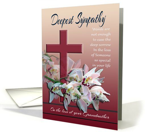 Words Of Sympathy New World: Deepest Sympathy On Loss Of