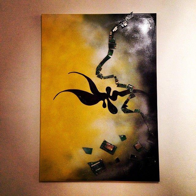 """""""Ribellione artistica #2"""" 70x100 (tecnica mista su tela)"""