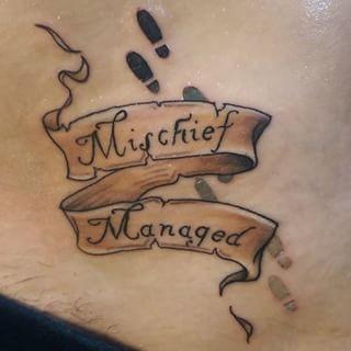 mischief managed tattoo - Google Search