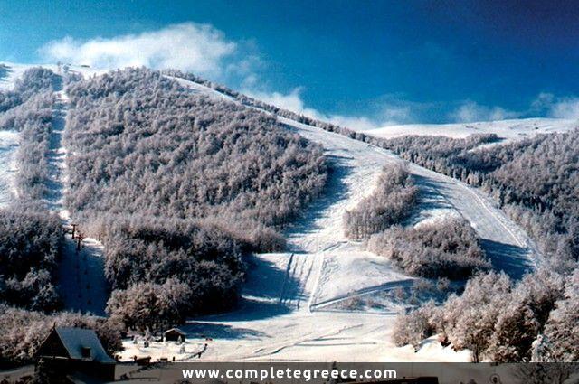 Ski center 3-5 Pigadia - Naousa - Imathia - #Greece