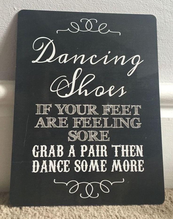 A5 Dancing Shoes Flip Flop Wedding Basket Box Sign Party Table Decoration