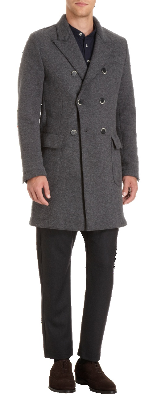 Barena Venezia Double-Breasted Top Coat