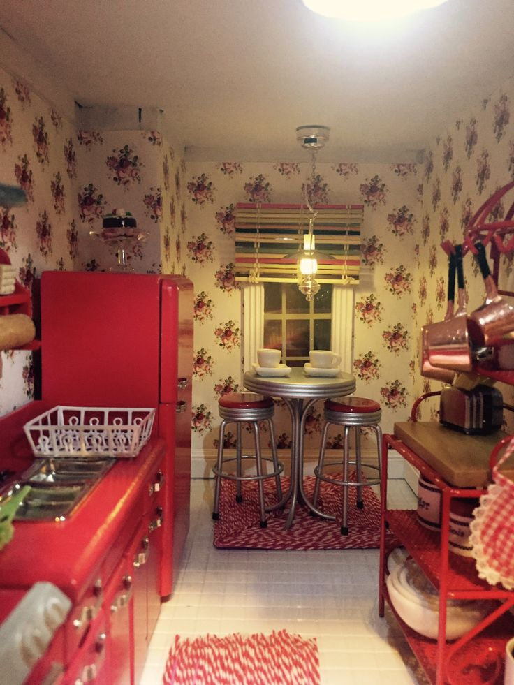 Kitchen The Alison Dollhouse