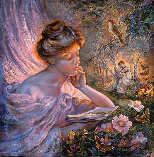 Tranquility by Josephine Wall