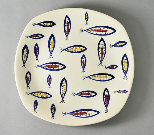 'Fish' by Jessie Tait for Midwinter Pottery   Flickr - Photo Sharing!