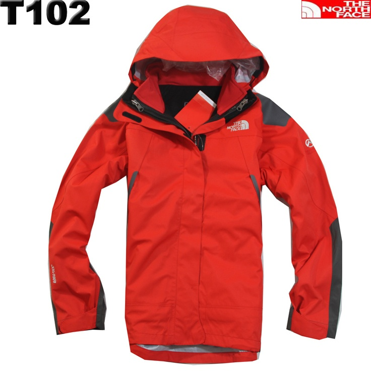 Cheap North Face Womens Gore Tex 3 In 1 Jacket Red