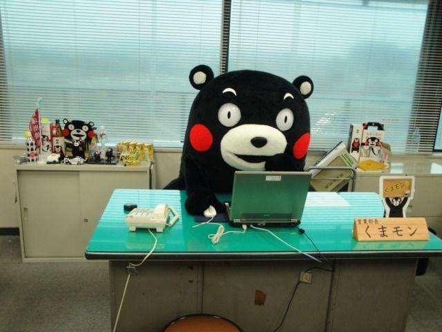 Working Kumamon