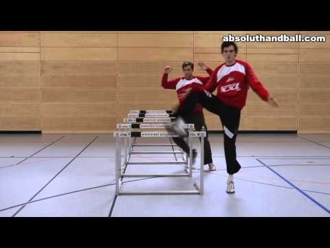 Handball Goalkeeper training (3) - YouTube
