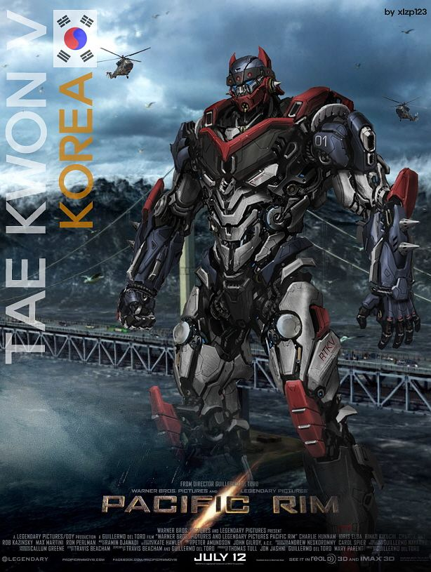 Pacific Rim Jaeger | Pacific Rim Korea by ~xlzp123 on deviantART