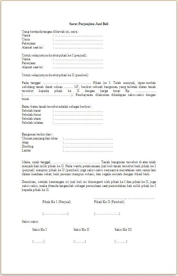 Format Contoh Surat Hibah Tanah di 2020 | Surat, Tanah ...