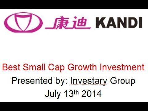 Best Small Cap Growth Stock: Kandi Technologies (KNDI) Stock Analysis - (More Info on: http://LIFEWAYSVILLAGE.COM/videos/best-small-cap-growth-stock-kandi-technologies-kndi-stock-analysis/)