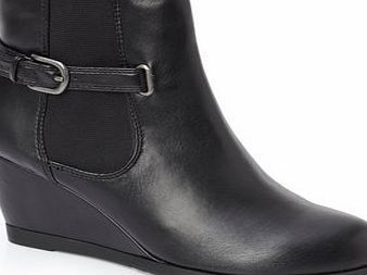 Bhs Black Leather Lotus Winslow Ankle Boot, black Winslow from Lotus offers a new take on the popular styling of a Chelsea boot