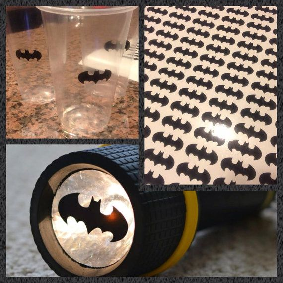 qty 25 1.25 Batman Logos Diy Batman by PassionDesignsInc on Etsy, $5.50