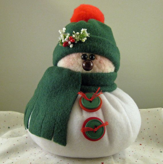 SNOWMAN DECORATION Snowman Ornament Christmas by ByFreddismom