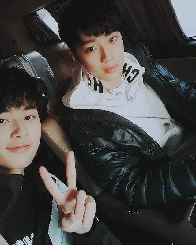 Yu Seonho (유선호) and Lai Kuanlin (라이관린)