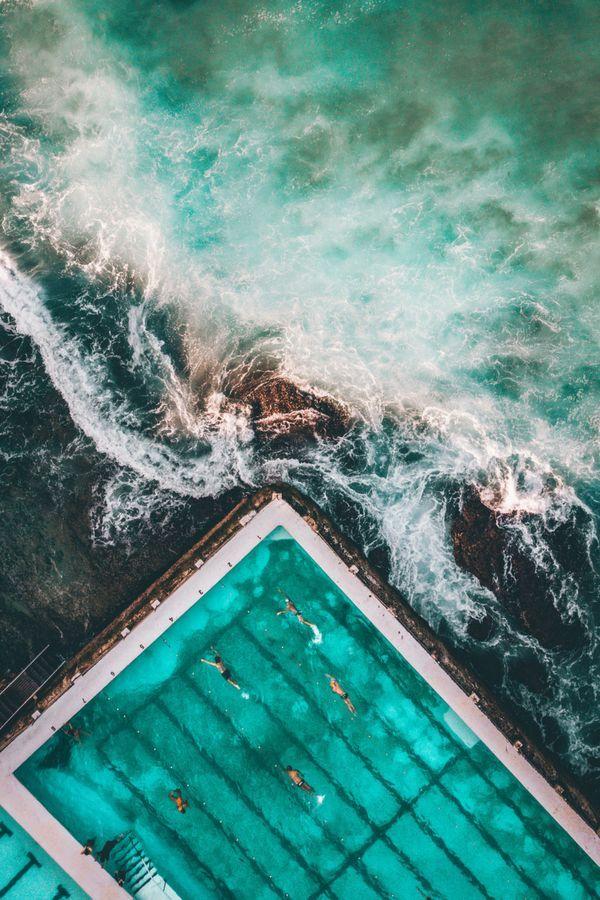 Spektakulär: Der Pool am Bondi Beach in Australien