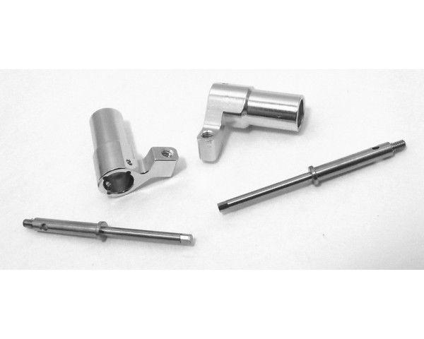 Aluminum Rear Axle Lock-Out Kit, Losi Micro Crawler