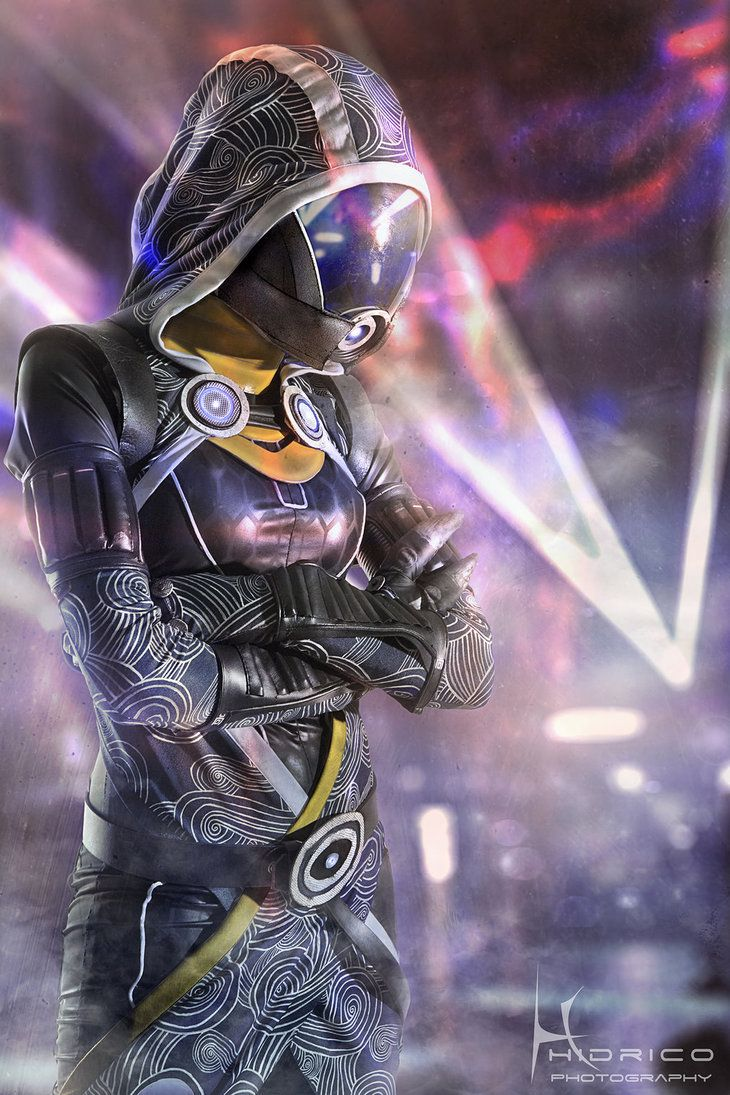 Tali- Quarian. Goes to show you don't have to wear revealing clothing to be the sexiest female character in a game!