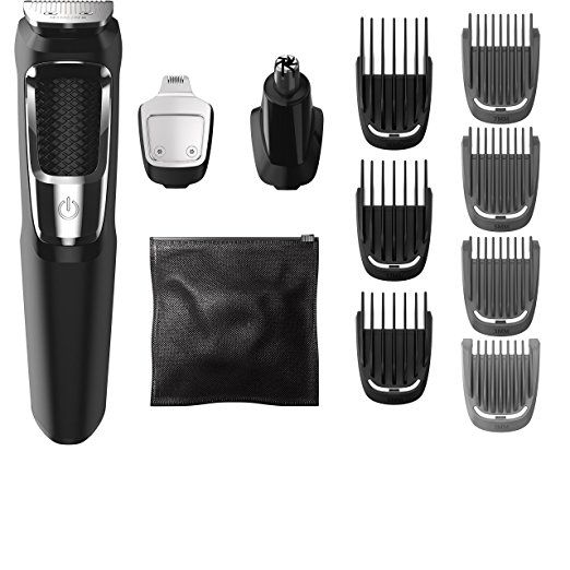 NEW Updated Philips Norelco Multigroom Series 3000, (Only $20.99) 13 attachments, MG3750. For more go to http://www.philipsnorelcomultigroom.com/product/philips-norelco-multigroom-series-3000-13-attachments-mg3750/