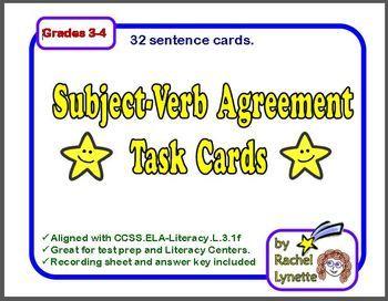 subject-verb agreement essays