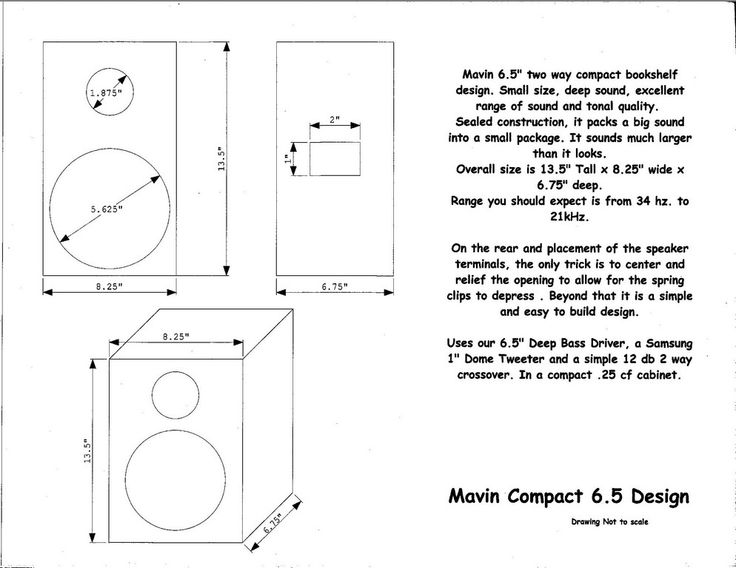Bass Cabinet Plans - WoodWorking Projects & Plans