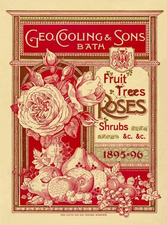 Fruit trees, Rose and Shrubs ( 1895-6)  Royal Horticultural Society/Lindley Library.
