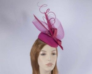 Winter fashion pillbox hat for races buy online in Australia F554