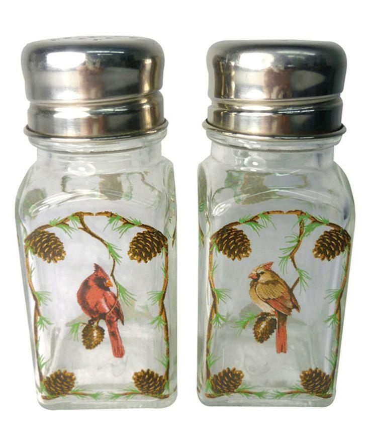 Look at this #zulilyfind! Cardinals Salt & Pepper Shakers by Westland Giftware #zulilyfinds