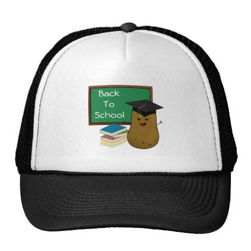 School Graduate Potato Back To School Trucker Hat