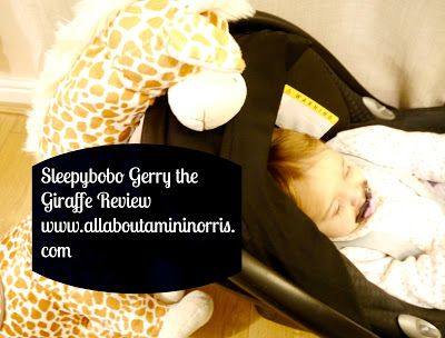 Sleepybobo Gerry the Giraffe Review
